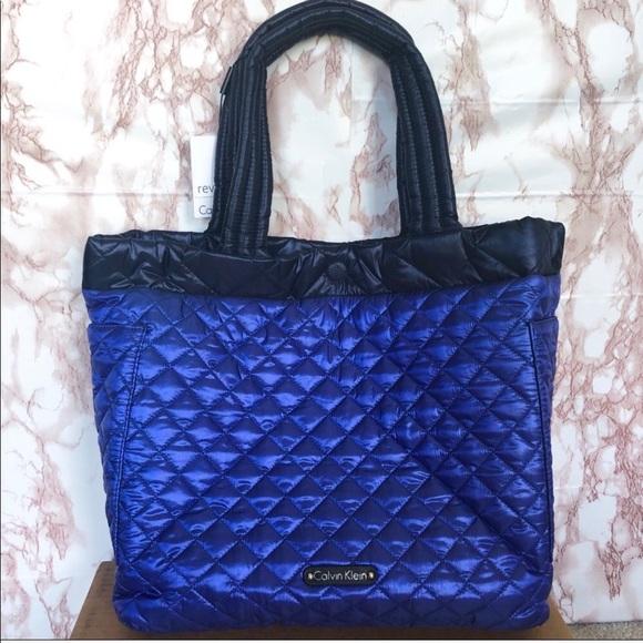 Calvin Klein Handbags - Calvin Klein Reversible Tote Bag